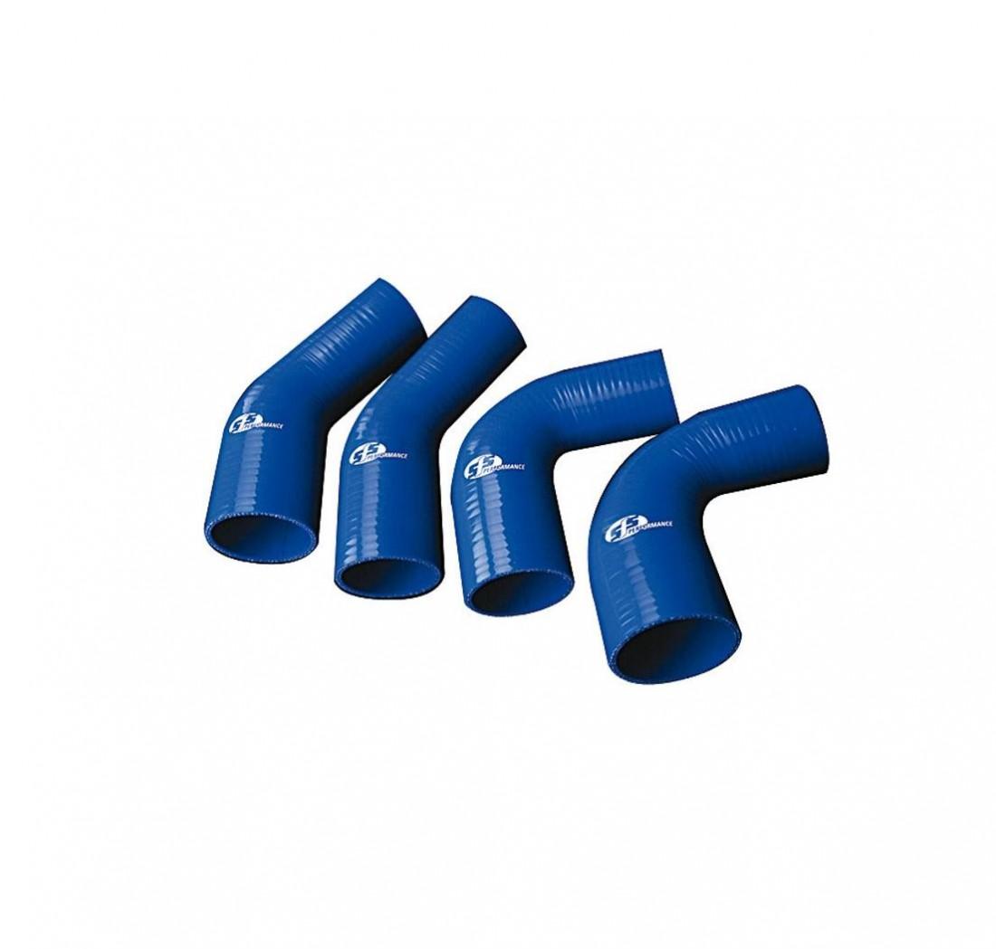 Manicotto Tubo RIDUZIONE Curva 45 Gradi 45° 35-30mm Raccordo Silicone Siliconico