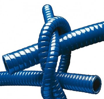Straight hoses wire reinforced
