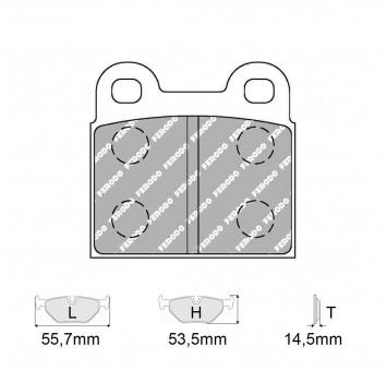 Brake pads Kit car make DKW