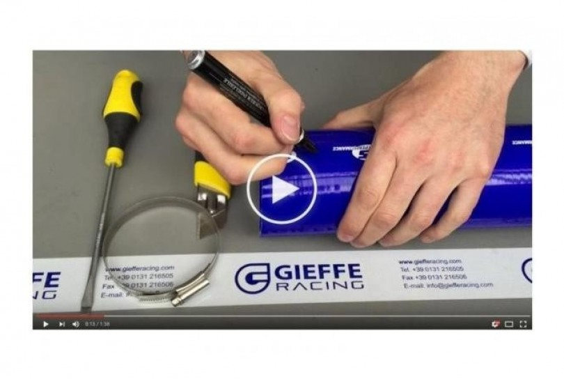 How to cut a silicone hose