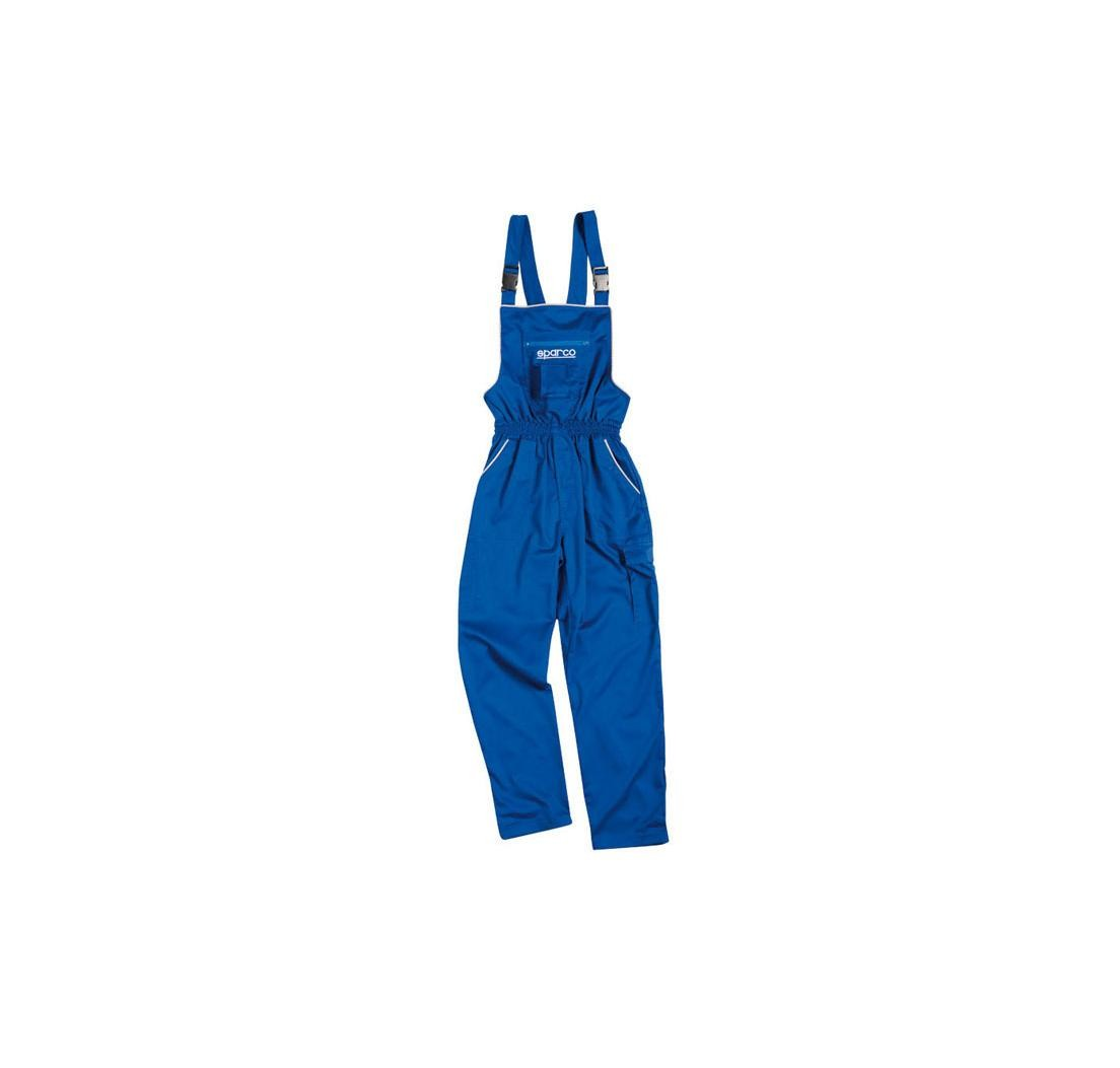 Sparco dungarees - blue - Size XL