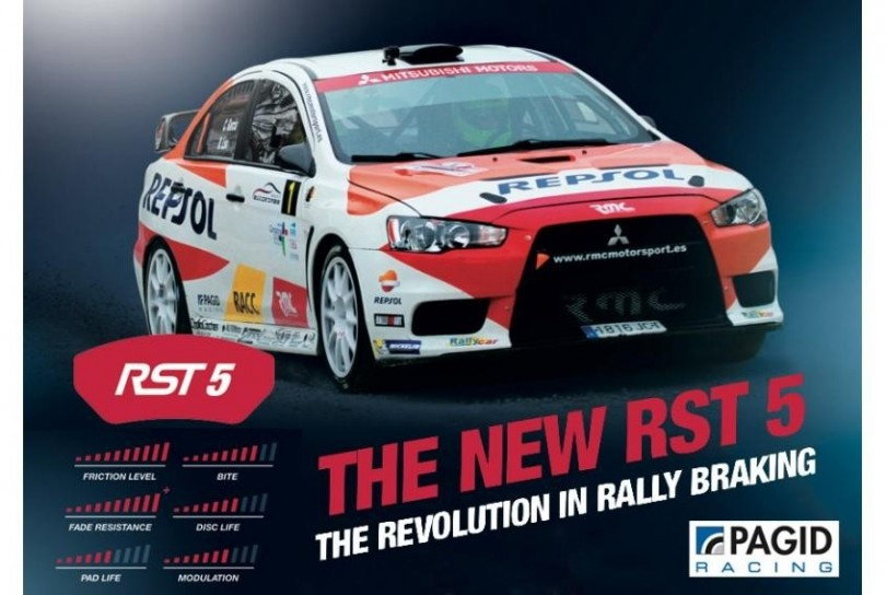 Pagid presented new RST 5 compound!